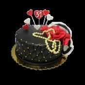 Торта Черен сатен