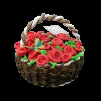Торта кошница.