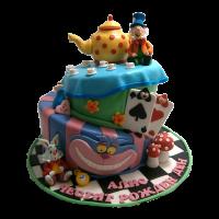 Торта Алиса в страната на чудесата