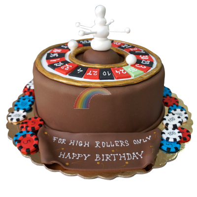 Торта Рулетка
