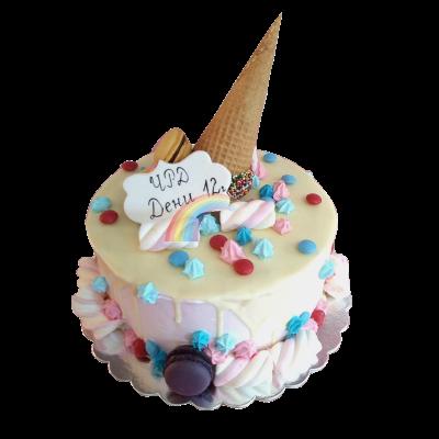 Торта сладолед
