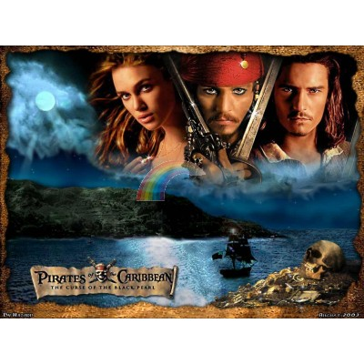 Торта Карибски пирати