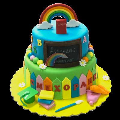 Торта Букви