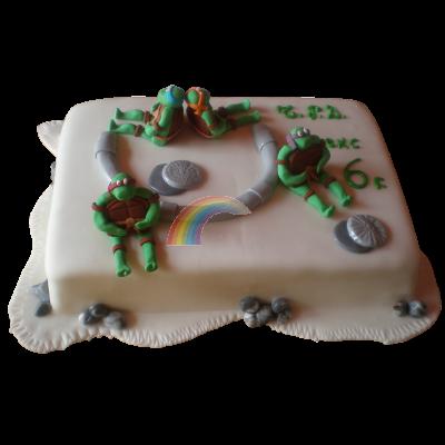 Торта костенурките нинджа.