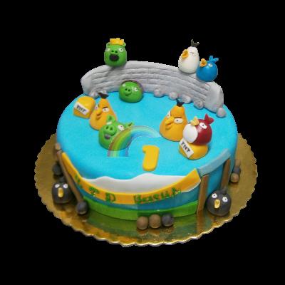 Торта Енгри Бърдс