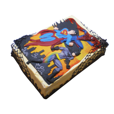 Торта Супермен