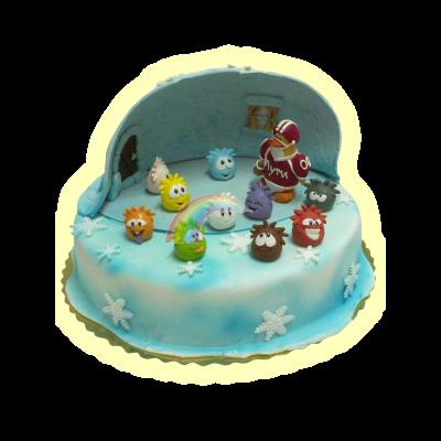 Торта Клуб Пингвин