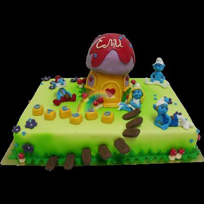 Торта Смърфове