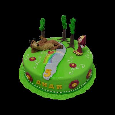 Торта Маша и Мечока