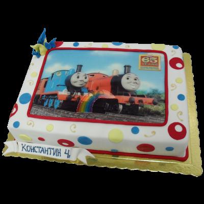 Торта Влакчето Томас