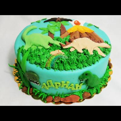 Торта Динозаври