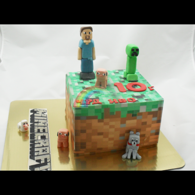 Торта Майнкрафт