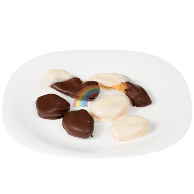 Сушени плодове с шоколад