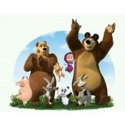Фото торта Маша и мечока