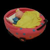 Торта Бебе в количка