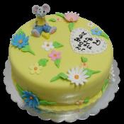 Торта мишка