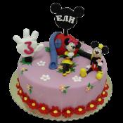Торта Мики  и Мини Маус