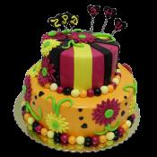 Торта двуетажна