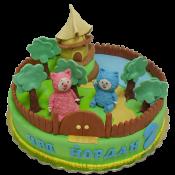 Торта Бейби ТВ Били Бам Бам