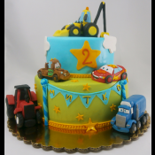 Торта Маккуин и камиончета