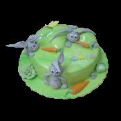 Торта зайци