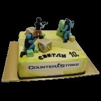 Торта Кънтър страйк