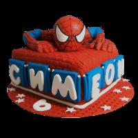 Торта Спайдърмен